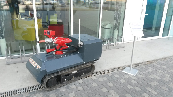 Skolkovo Robotics 2015 - пожарный робот