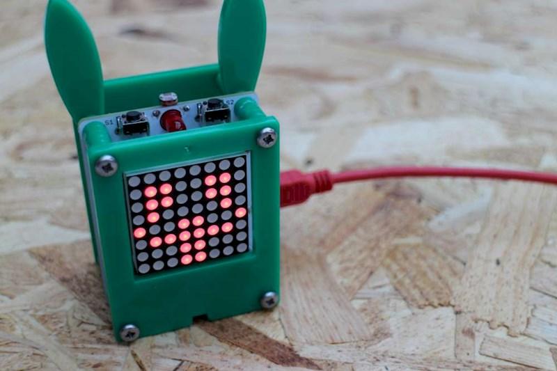 Petduino - тамагочи на Arduino