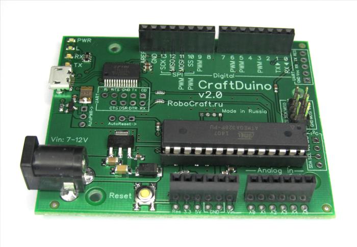 CraftDuino v2.0