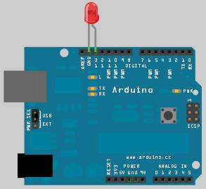 Arduino во Fritzing