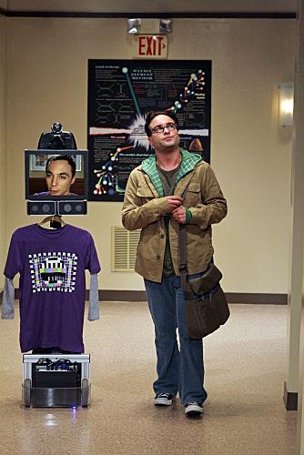кадр из телесериала «Теория Большого взрыва» (The Big Bang Theory)