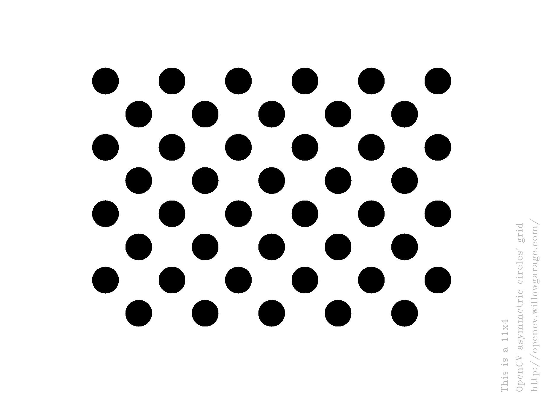 Findcirclesgrid Opencv Q Amp A Forum