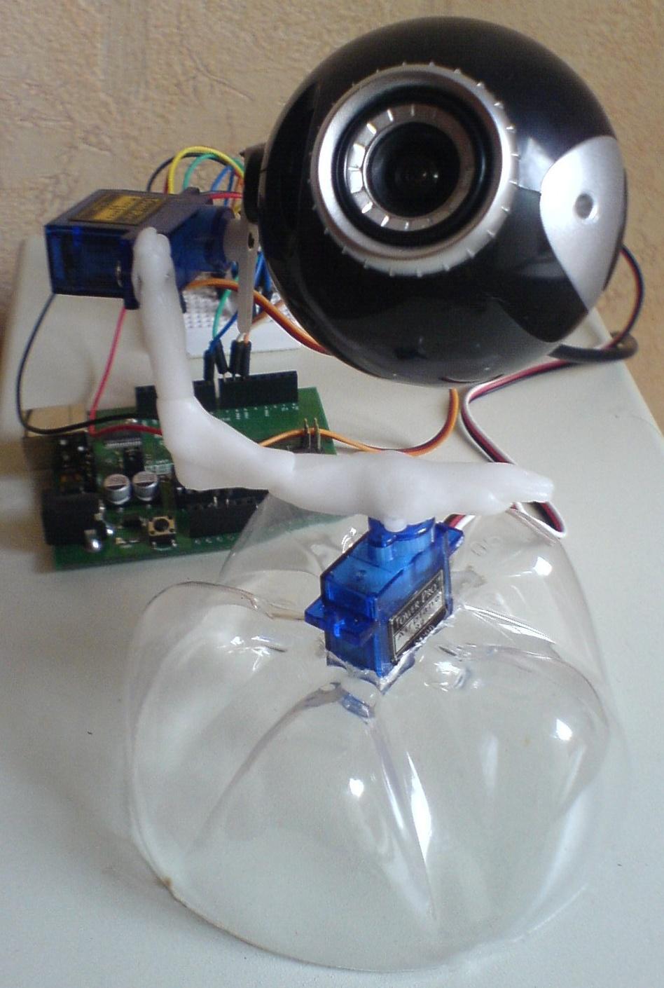 Управляемая веб-камера