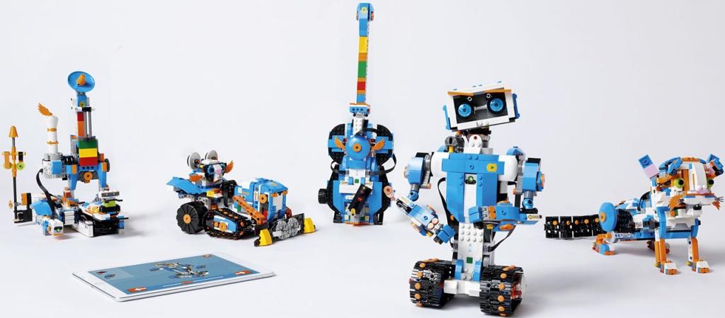 LEGO Boost - 5 вариантов игрушек