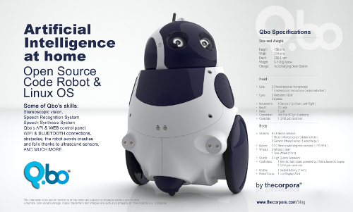 робот Qbo