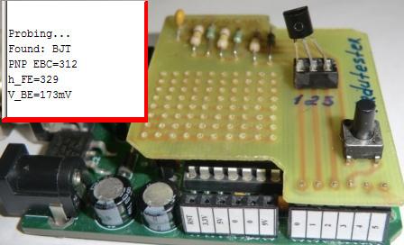 Транзистор тестер своими руками