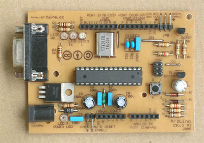 Arduino Single-Sided Serial Board