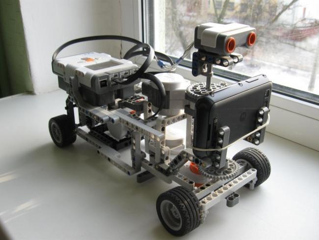 управления радаром робота,