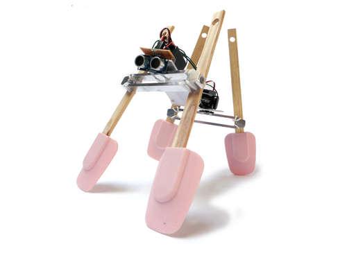 Простой шагающий робот на Arduino
