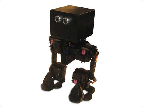 FOBO - двуногий робот на Arduino