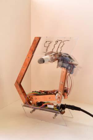 Робо-часы на Arduino