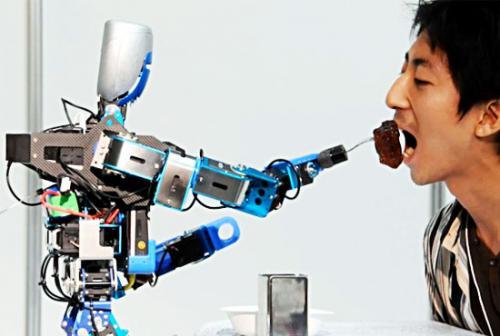 Роботы-кулинары из Японии