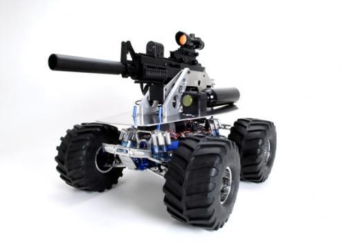 Автомат на колёсиках