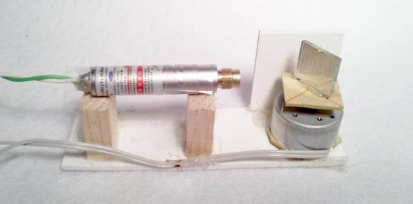 Самодельная лазерная линия для 3D-сканирования