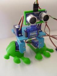 двуногий робот на Arduino