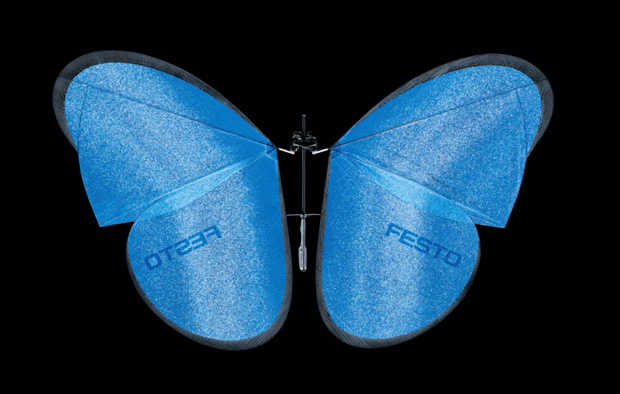 робот-бабочка