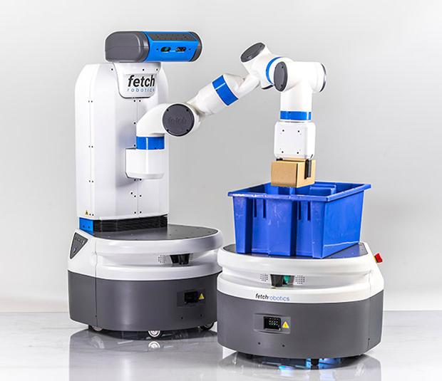 роботы Fetch и Freight для автоматизации складских операций