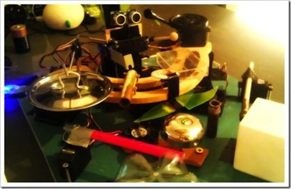 Arduino в роботе-барабанщике