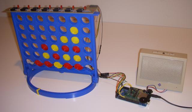 Arduino играет в Connect 4