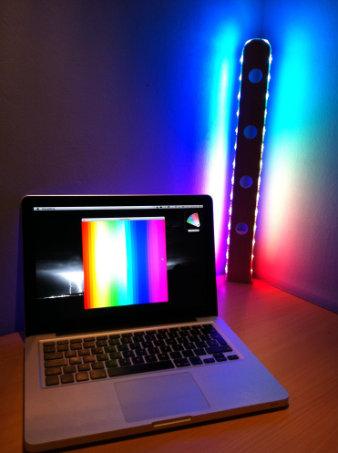 RGB-лампа под управлением Arduino