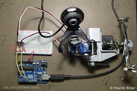 Отслеживание лица - OpenCV + Arduino