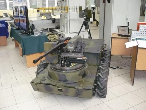ДУМ - российский боевой робот