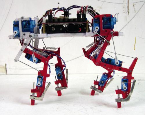четвероногий робот на ардуино