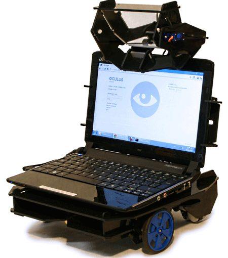 Oculus - недорогой робот телеприсутствия
