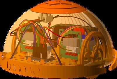 LogoBot - простой робот для 3D-печати