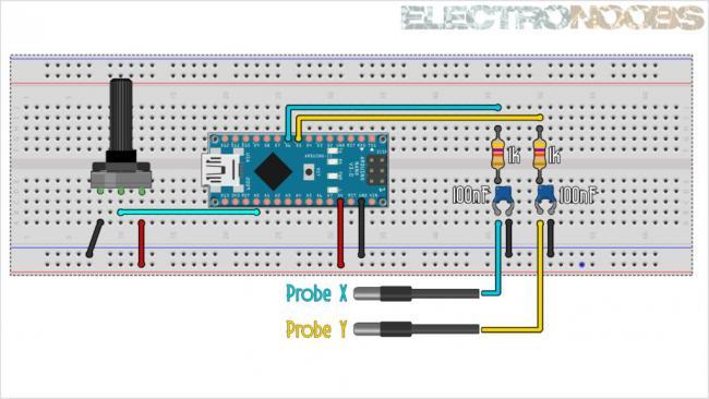 Рисуем на осциллографе с помощью Arduino