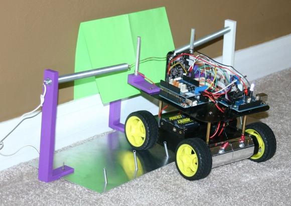 Mikey - робот на базе Arduino