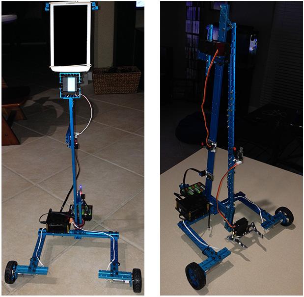 ORIGIBOT - робот телеприсутствия