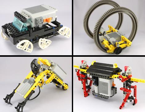 роботы из лего картинки