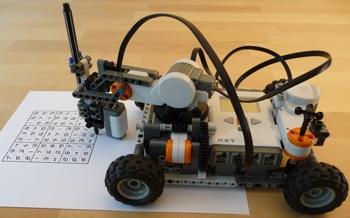 робот из LEGO