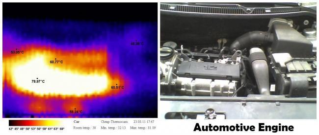 Самодельный тепловизор на базе Arduino