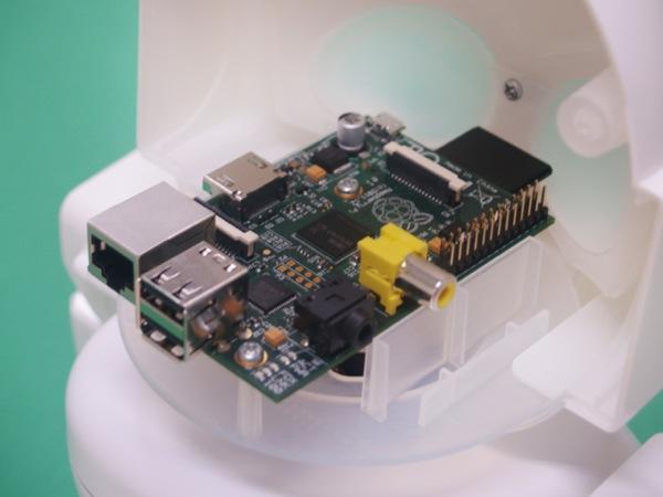 Raspberry Pi в роботе RAPIRO