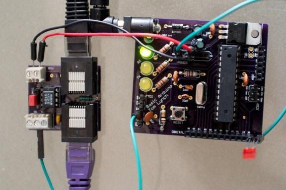Управление Arduino через RS-485