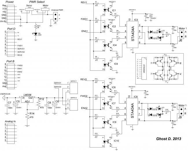 вариант схемы LC-Motor