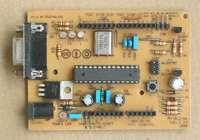 Arduino Single-Sided Serial Board