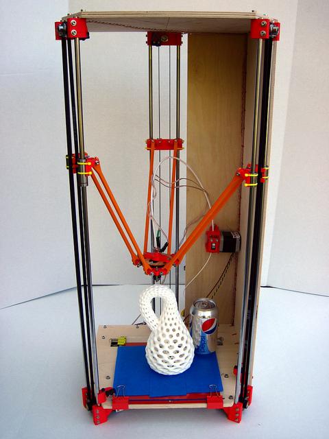 Rostock - дельта-робот для 3D-печати