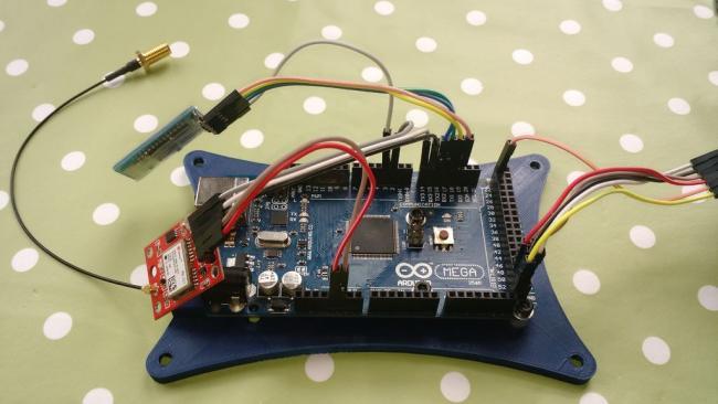 Чёрный ящик для автомобиля на Arduino Mega