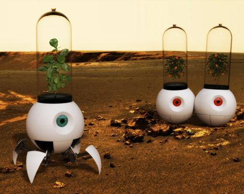 Робот-колба