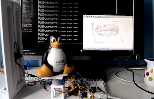 3D-сканер из Arduino и ИК-сенсора