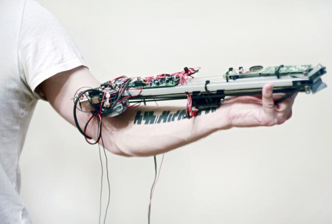 татуировка - музыкальный инструмент