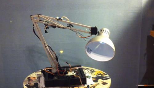 Роботизированная лампа