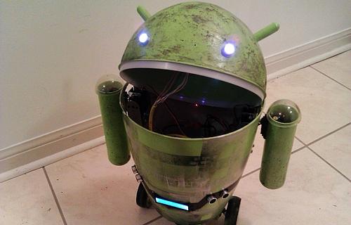 Android из бачка для мусора