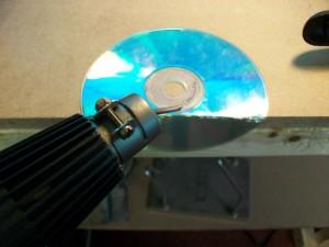 Робо-платформа из CD-дисков