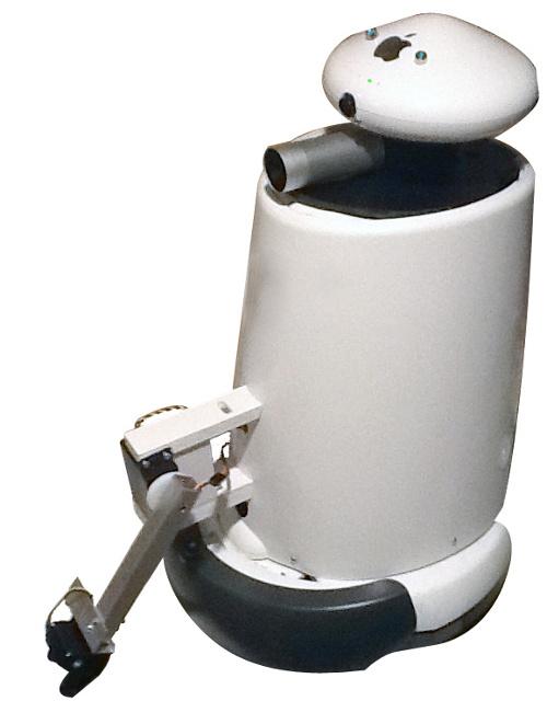 Yubin Kun — робот на базе iRobot Roomba