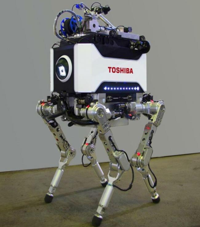 Четвероногий робот