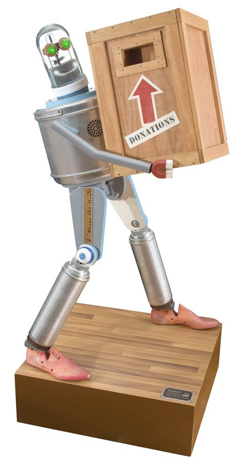 Робот для сбора пожертвований